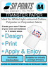 10 sheets of A4 Inkjet Iron-on T-Shirt Transfer Paper for White/Light Garments