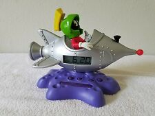 Marvin The Martian Looney Tunes Talking Alarm Clock Warner Bros. 1998 WORKS
