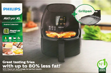 Philips Airfryer XL 1.2 Kg Avance Collection HD9248/91 + Grill pan