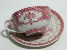 Clifton Collection Powell Craft England teacup and saucer in Red.