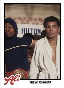 2021 TOPPS MUHAMMAD ALI THE PEOPLE'S CHAMP CARD #70 NEW CHAMP