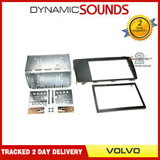 CT23VL01 Double DIN Fascia Adaptor Panel Black For Volvo XC70 2004-2007