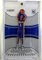 2015-16 Panini Clear Vision Blue D'Angelo Russell Rookie RC #96, #'d /149