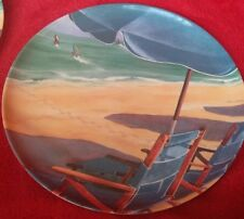 Beach Plates And Bowl Beach House Plastic