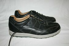 FootJoy Black Leather Spikeless Golf Shoes 11.5 M