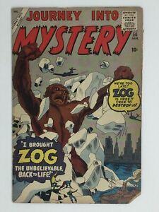 Journey into Mystery 56 * 2.0ish * Unrestored Atlas Marvel Scarce