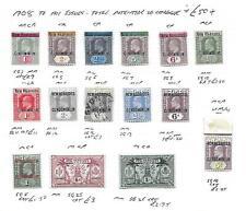 New Hebrides Stamp Collection Edward VII umm mm mu. SG Cat: £50+