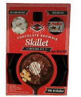Chocolate Brownie Baking Kit With Mini Mallows & Nutella Skille M&M's Mix & Bake