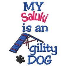 My Saluki is An Agility Dog Short-Sleeved Tee - Dc1828L