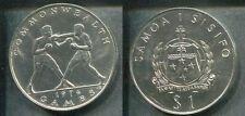 SAMOA 1974 - 1 Dollar in stgl.! COMMONWEALTH GAMES Boxer