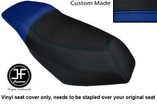 BLACK AND ROYAL BLUE CUSTOM FOR MALAGUTI PHANTOM F12 100 DUAL SEAT COVER ONLY