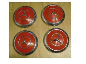 Mercedes  4 enjoliveurs de roue diametre:24cm