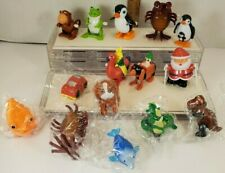 Wind Up Toys Lot 15 Assorted some new - Made in China Dino Penguin, Santa, car