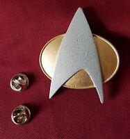 Star Trek Next Generation TNG Communicator Com Badge Costume Uniform Enterprise