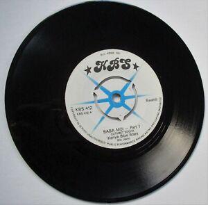 THE KENYA BLUE STARS**  (CUTHBET BOCHA) BABA MOI   Parts 1 &  2 1976 KBS RECORDS