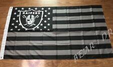 Las Vegas Oakland Raiders 3x5 Ft American Flag Football New In Packaging