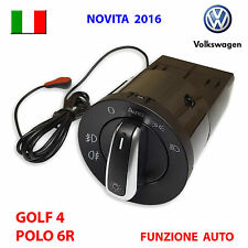 Devioluci cromato AUTOMATICO VW GOLF 4 IV PASSAT POLO LUPO AUDI deviatore luci