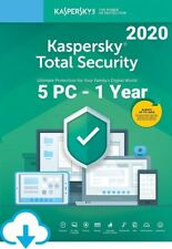 Kaspersky Total Security 2020 for 5 PC / Devices 1 Year Download Key EU