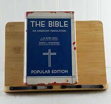 The Bible an American Translation J. M. Powis Smith 1943