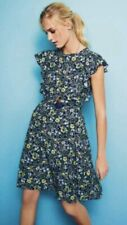 Bnwt Floral Ruffle Green Tea Dress Size 8 From Next