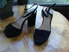 Atmosphere Women's Black Strappy Platform Heels Sandal Size 8