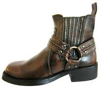Maverick A3R027 Mens Brown Ankle Boots (R23A)