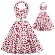 Halter Casual Dresses for Women's 1950s