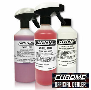 Chrome (NW) - Exterior pack. 3 for £16.99 FREE P&P -The CB Shack @ Lymm services