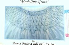 "NEW Smocking Plate ""Madeline Grace"" by Peanut Butter n Jelly Kids"