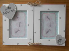 Personalised Gift Christmas Special Auntie And Uncle Double Photo Frame 6x4