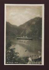 Norway MARAAK Shipping Steamer c1920/30s? RP PPC
