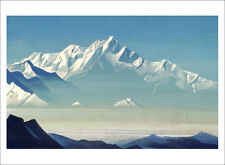 Roerich - Mount of Five Treasures mountain landscape art print various sizes