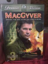 MacGyver - The Complete Third Season (Dvd, 2005, 5-Disc Set) New