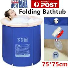 Folding Bathtub Portable PVC Foldable Water Tub Place Room Spa Bath Tub Adult