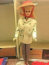 Vintage Barbie Doll With Case Clothes & Accessories Lot