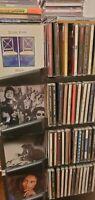Music CD 3 Rock Pop Metal Hip Hop Dance Soundtracks 70s 80s 90s Pick And Choose
