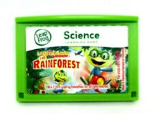 The Rainforest Leap Frog Leapster Explorer Cartridge Learning Game Science