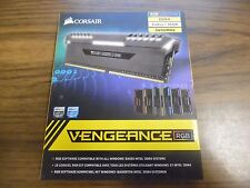 NEW Corsair Vengeance RGB LIGHTING 16GB(2x8GB) DDR4 3000MHz  CMR16GX4M2C3000C15
