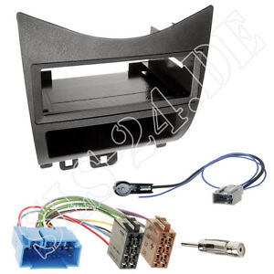 Honda CR-Z ZF1 Autoradio Doppel 2-DIN Radio Blende+ISO Radioadapter Antenne SET