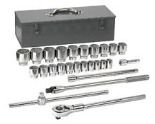 """27pc Gearwrench 3/4dr SAE Socket Set with Ratchet and box, 7/8"""" to 2-3/8"""" #80880"""