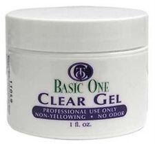 Christrio Basic One - Clear Gel - 1oz / 28g - One Step UV Gel