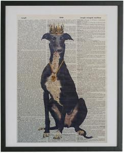 Greyhound Dog Print No.434, greyhound posters, greyhound art, dog posters