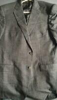 Ermenegildo Zegna mens wool jacket sports coat 48R