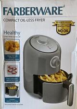 Faberware Compact Oil-less Fryer Versatile Cooking - Open Box