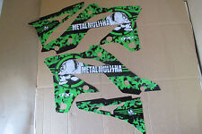 F X  KAWASAKI  METAL MULISHA GRAPHICS  KX250F KXF250   2013  2014   2015 2016