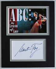 More details for martin fry signed autograph 10x8 photo display music abc lexicon of love coa