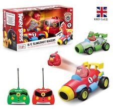 ANGRY BIRDS REMOTE CONTROL SLINGSHOT RACERS Run Kids Toy Car Xmas Gift M82501 UK