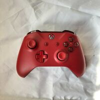 Microsoft Wireless Controller for Xbox One and Windows 10 - Red