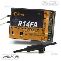 Corona R14FA FASST Compatible 2.4Ghz 14Ch Receiver For FUTABA Radio Transmitter