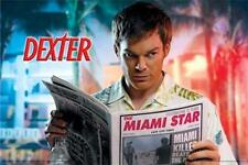 DEXTER ~ MIAMI STAR KILLER 24x36 TV POSTER Michael C. Hall Showtime NEW/ROLLED!